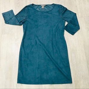 Kate & Mallory Floral Cutout Sleeve Bodycon Dress